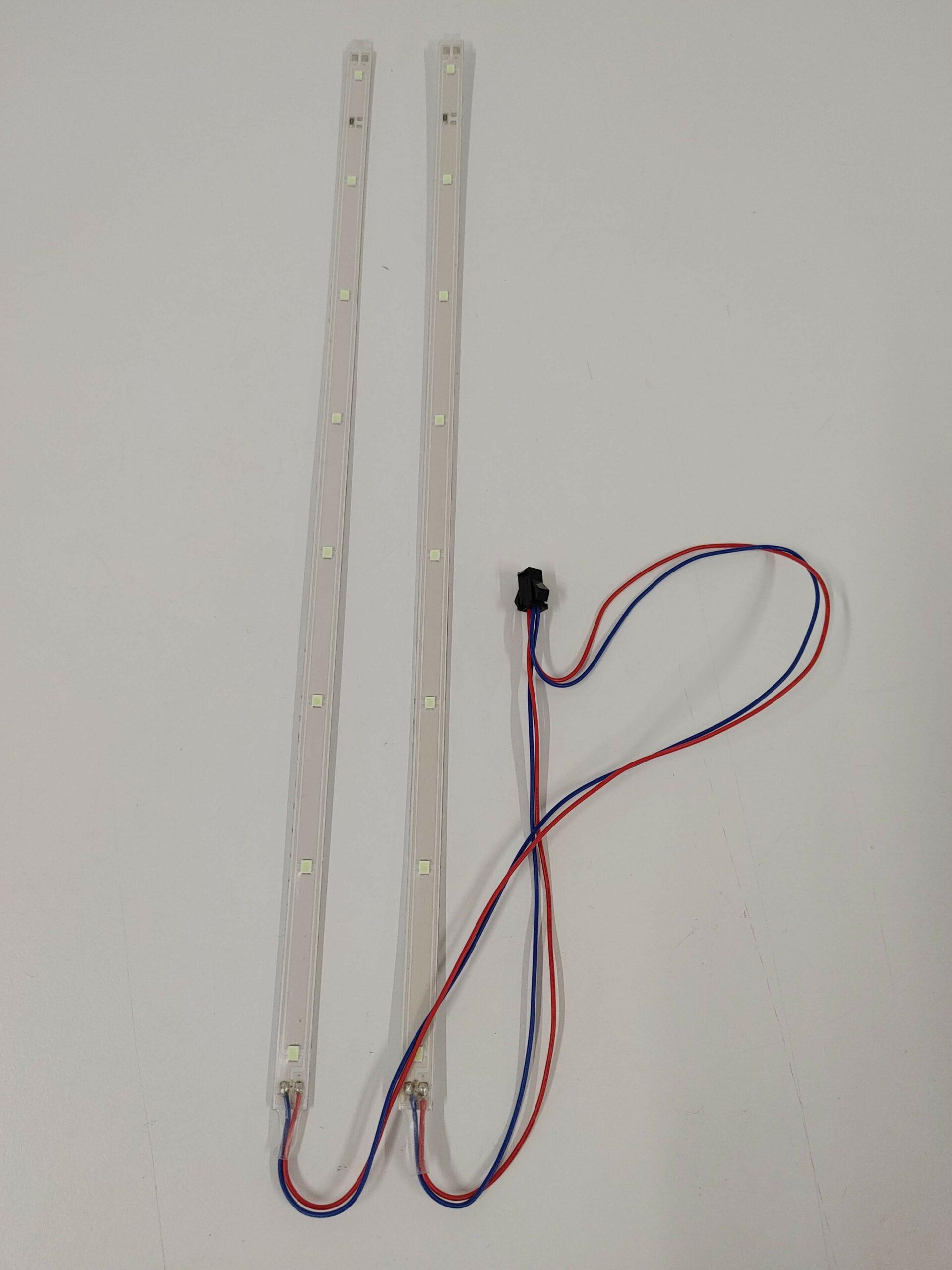 Ljós LED 48V v/h á standpall hliðar fyrir Mantis 10 Lite